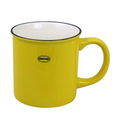 Cabanaz Koffiemok Sunny Yellow