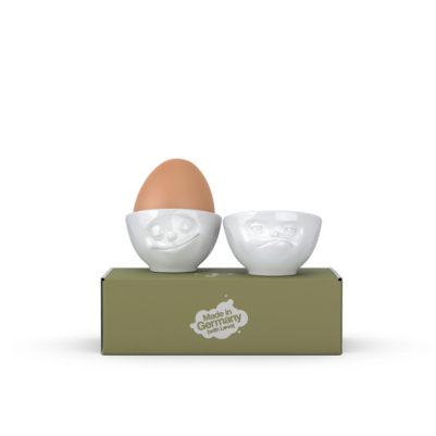 Tassen Eierdopjes Happy & Hmpff