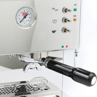 Quick mill 3035 espressomachine close up