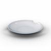 Tassen diepe borden met hap