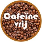 Cafeïne-vrij