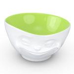 Tassen Schaal 500ml Grinning groene binnenkant