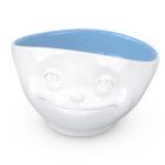 Tassen schaal 500ml Dreamy blauwe binnenkant