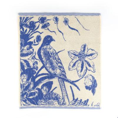 Bunzlau Castle Keukenhanddoek Delft Blue Bird
