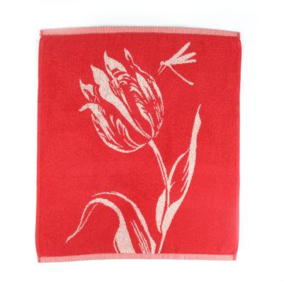 Bunzlau Castle Keukenhanddoek Tulips Red