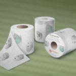 Tassen Toiletpapier