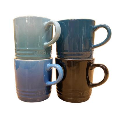 Le creuset koffiekoppen Black&Blue