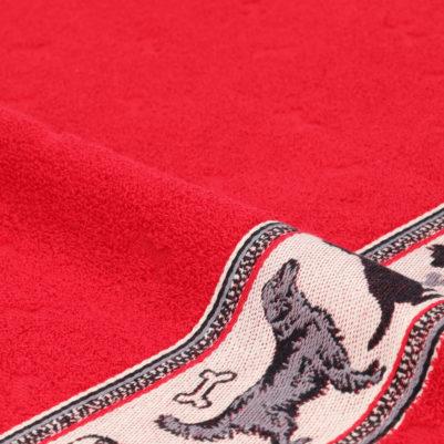 Bunzlau Castle Keukenhanddoek Dogs Red