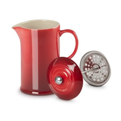 Le Creuset Cafetiere Kersen rood