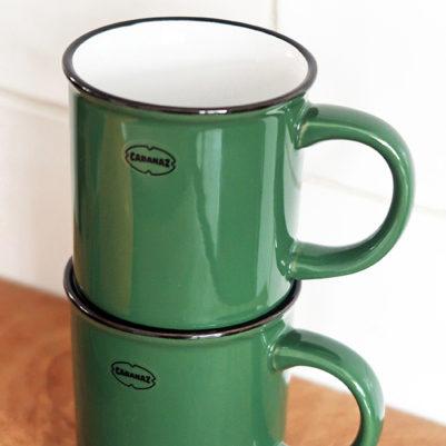 Cabanaz Koffiekopje Pine Green